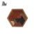 Wooden Building Blocks Polygon Tangram Jigsaw Brain Puzzles Games Hexagonal Base Brain Teaser Intelligence Toy