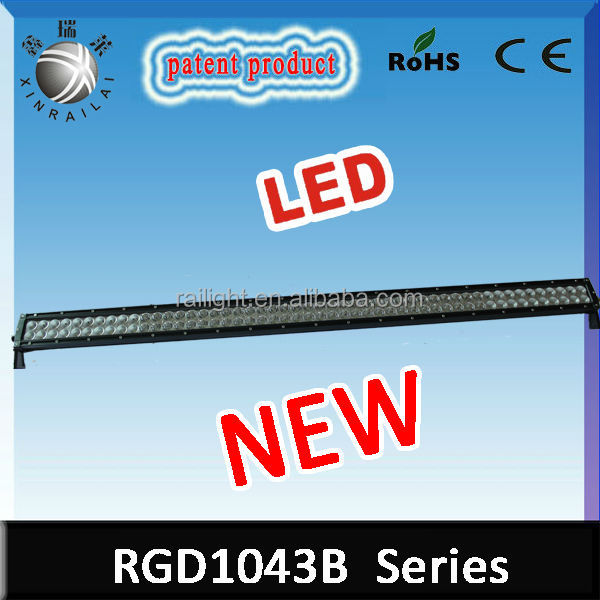 50 inch Epistar led light waterproof IP 68 high lumen dual row 300w decorative led light bar for suv