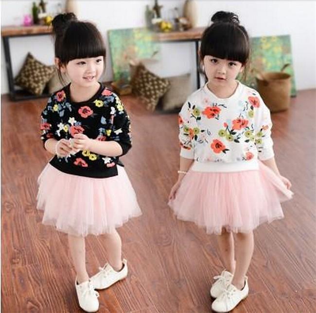 164f8e89c9d5 Fashion Girl Dress Baby Girl Korean Style Design Casual Dress Kid ...
