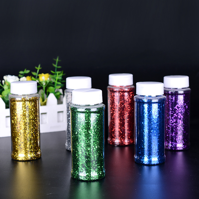 Holographic Silver Crafting Powder//Fine Glitter Shaker 100g
