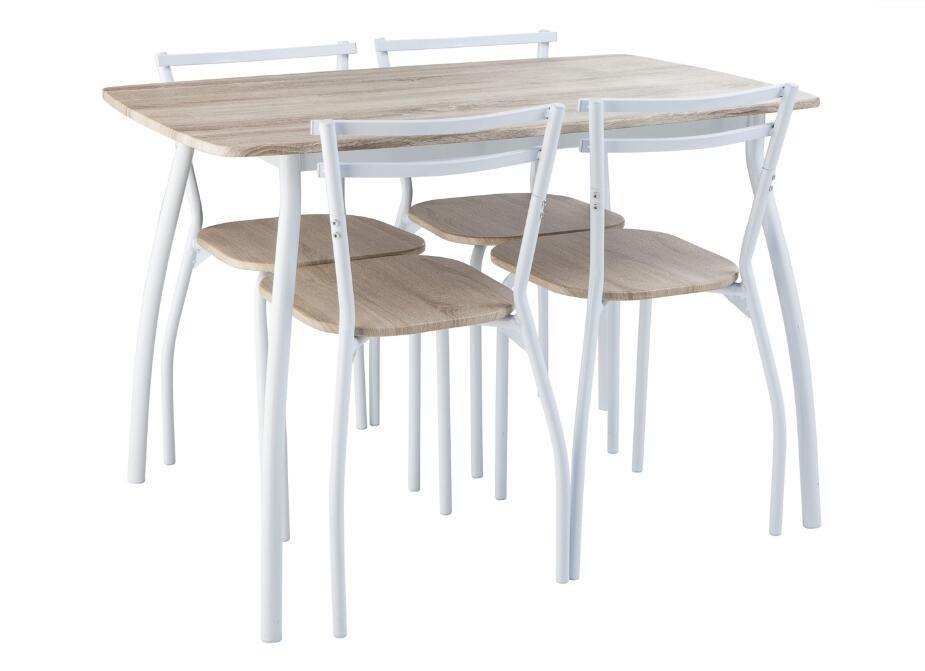 Pas cher table et une chaise fixe lots de salle manger - Table a manger chaise pas cher ...