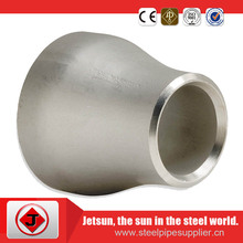 Good performance and good quality SS 304/316 stainless steel pipe fittings Con/Ecc reducer