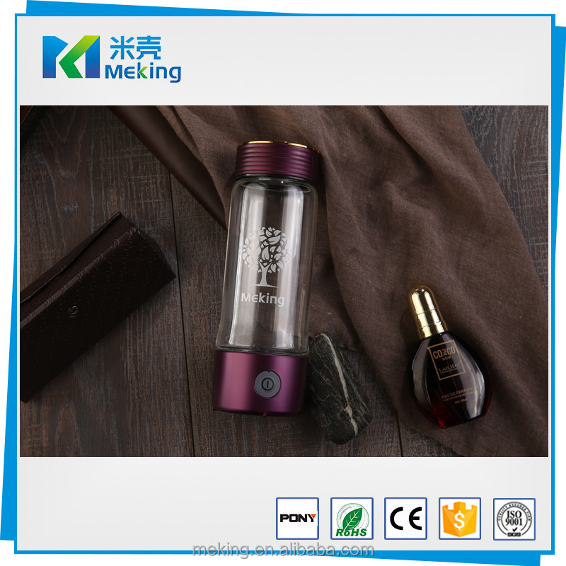 2017 Newest China Supplier High-tech Anion Hydrogen Rich Water Bottle Portable