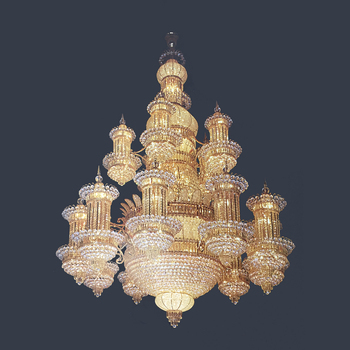 Custom Church Hotel Extra Large Crystal Chandelier Luxury House Pendant From Jansoul Lighting Factory