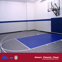 Indoor Fitness / Gym Sports Flooring Basketball