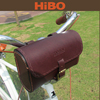 Leather fashion Bike Bicycle Cycling Saddle Bag Tail Rear Storage Seat Pouch