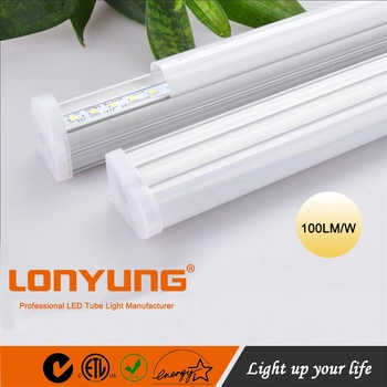 zhongshan led integrated light 600mm 900mm 1200m led integrated light CE ROHS led tube 0.9pf