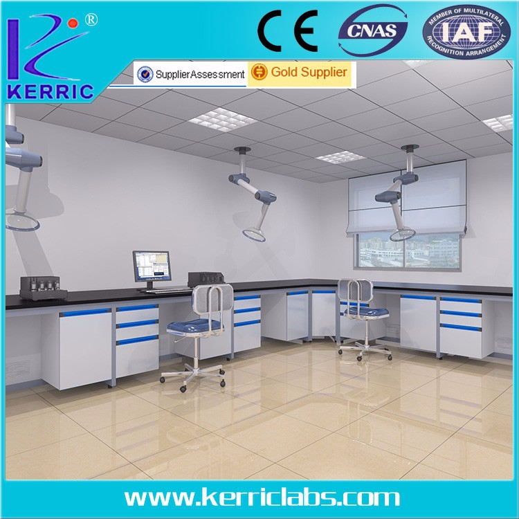 Dental Laboratory Bench With Gas System Dental Equipment