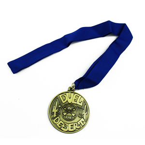 China manufacturer supply custom metal sports award antique medal