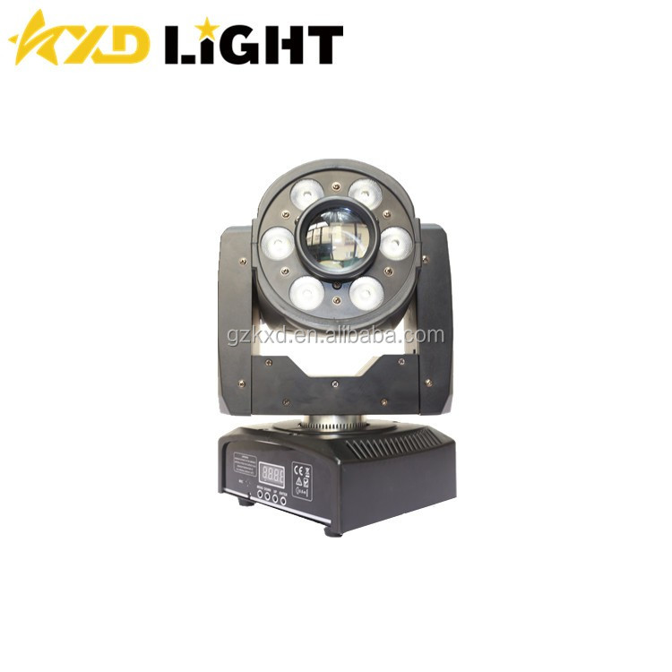 KXD Stage Light 3 Years Warranty CE & RoHs Certificate 30W Led Spot & 6*8W Wash DJ Lights China DJ Equipment