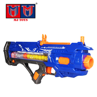 Popular 12 rounds powerful electric toy gun of shooting game