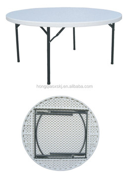 Beau D.60u0026quot; Low Folding Round Table/wholesale Catering Picnic Plastic Table /import