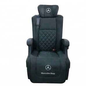 Electric Adjustable VIP Leather Car Electric Luxury Van Seats For MPV