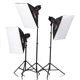 Tolifo Portable Photography Studio Mono-light Light Kit With Softbox And Accessories