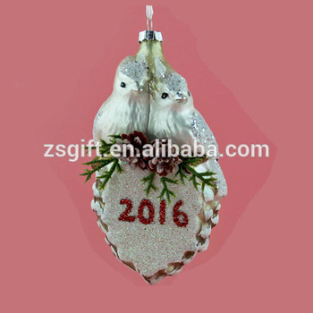 Customized hanging ornament bulk christmas ornaments
