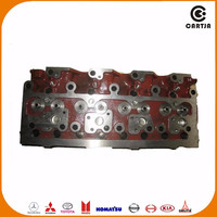 supply sample model 4d95 truck auto motor engine part cylinder head