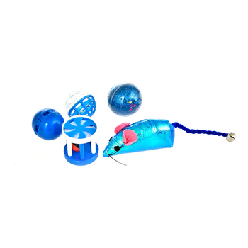Amazon Hot Cheap Cheap Colorful Mouse Cute Cat Toy Set