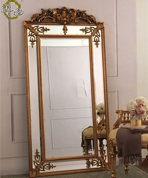 Mate Gold Antique French Style Full Length Wooden Dressing Mirror View Decorative Full Length Mirrors Miller Miller Product Details From Guangzhou Miller Arts Crafts Co Ltd On Alibaba Com