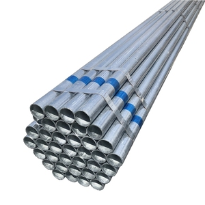 White powder coated hot dip galvanized steel pipe and tube Z275g