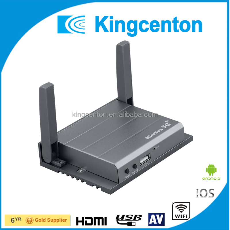 Hot Sale Kingcenton1080P DLNA WiFi Display Receiver wifi 1080P <strong>TV</strong> <strong>Dongle</strong> Support Airplay Miracast