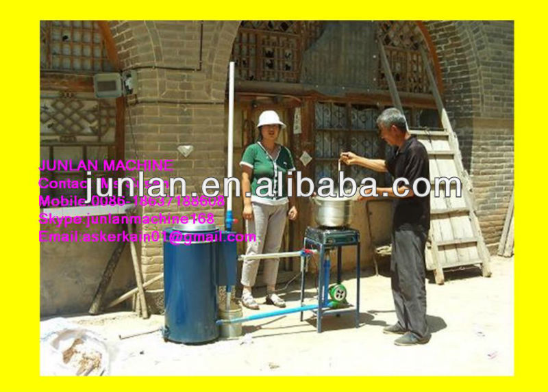 wood biomass gasifier for home heating use