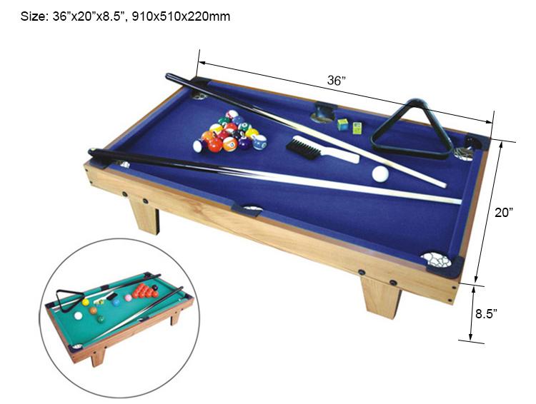 SZX 3ft  interesting mini table top billiard table on sale