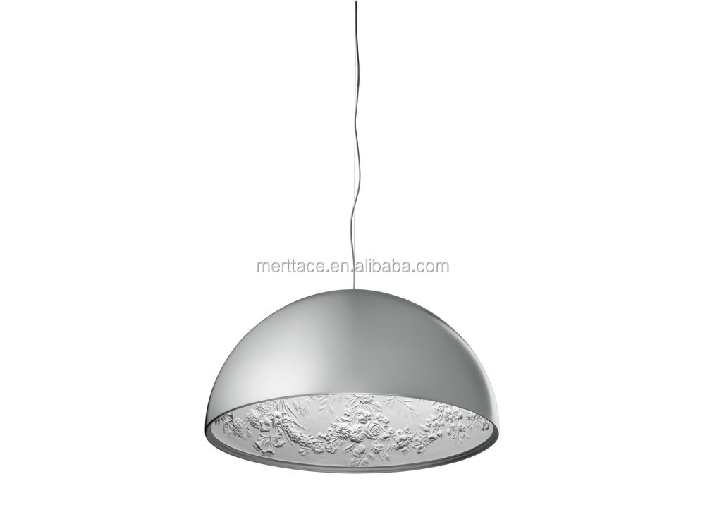 Acrilic Decorative Ceiling Hanging Attractive E27 Nail Pendant Lamp