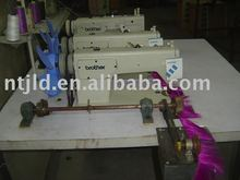 Three Heads Weft Machine / wefted hair / hair weaving