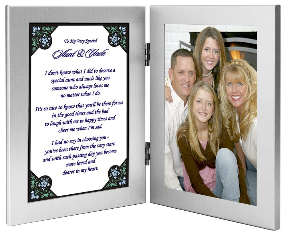 Buy Gift For Uncle And Aunt Sweet Poem From Niece Or Nephew 4x6