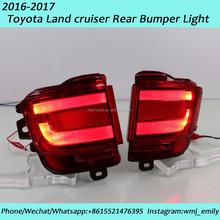 Led modified rear bumper light for 2016-2017 year Land Cruiser FJ200 LC200 4000 5700 with Brake Driving light