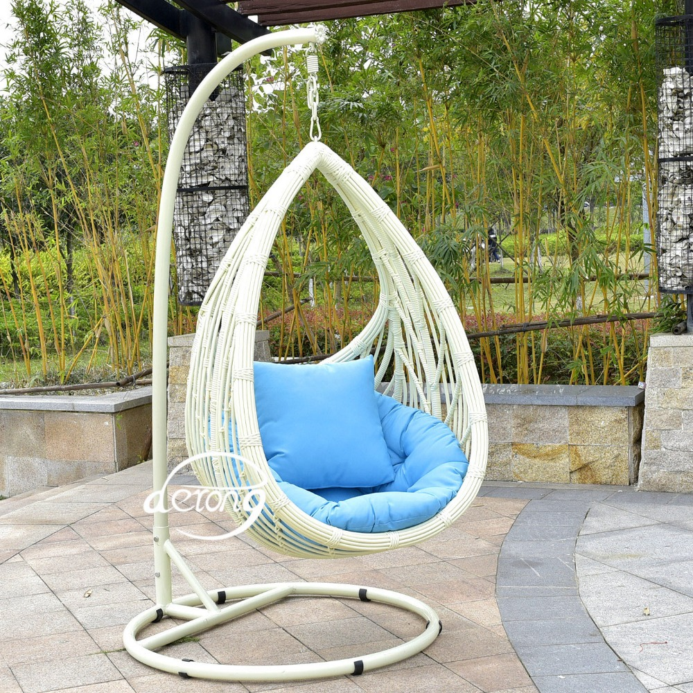2016 en plein air en rotin suspendus chaise d 39 oeufs meubles pe rotin fauteuil suspendu jardin. Black Bedroom Furniture Sets. Home Design Ideas