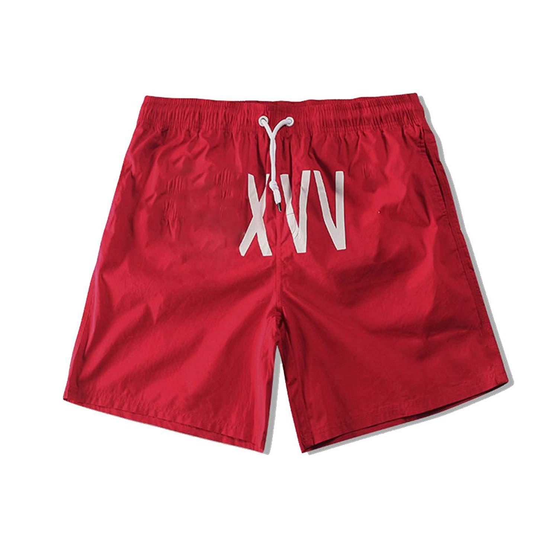 2a8cdfb462 Get Quotations · ZFADDS Men Shorts 3D Print Beach Board Pants Mesh Beach  Pants Wear Funny Streetwear Board Mens
