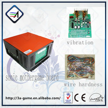 Exceiting Simuloter Car Game Sonic Accesarries With Wire Hardness and Vibration