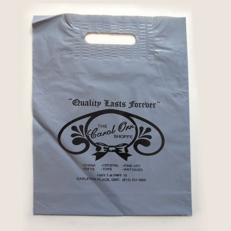 Printed LDPE plastic bag high quality plastic special carry bags