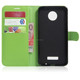 Folio Wallet Leather Cover Case For Motorola For Moto Z Play / Droid