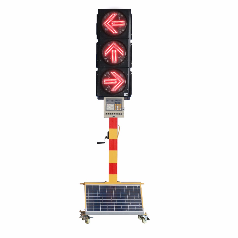 Pule Traffic Lights Led Security Car Lightbar Solar Traffic Portable Lights