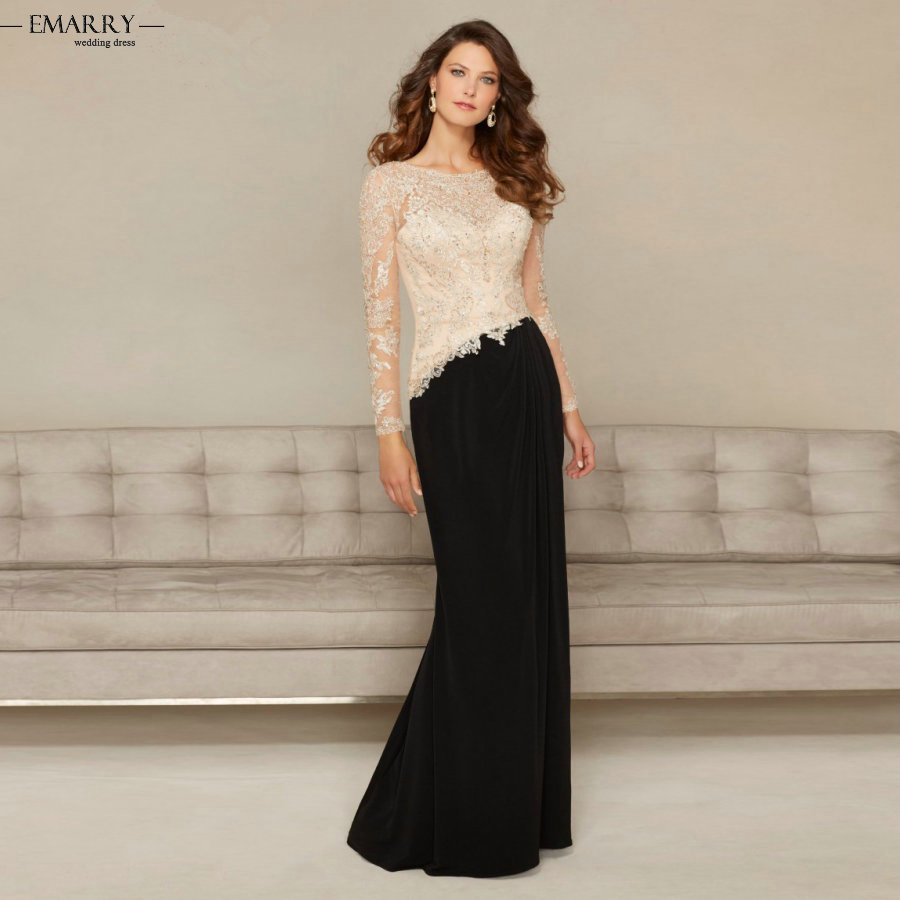 Stunning Mother Of The Bride Dresses: ZZ0476 2016 Elegant Floor Length Appliques Mother Of The