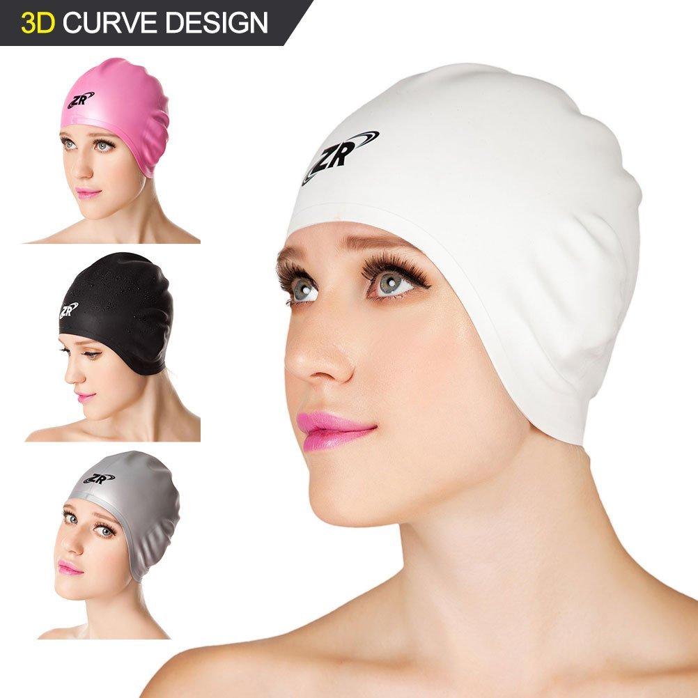 52cf3c236326 Buy Silicone Swim Caps