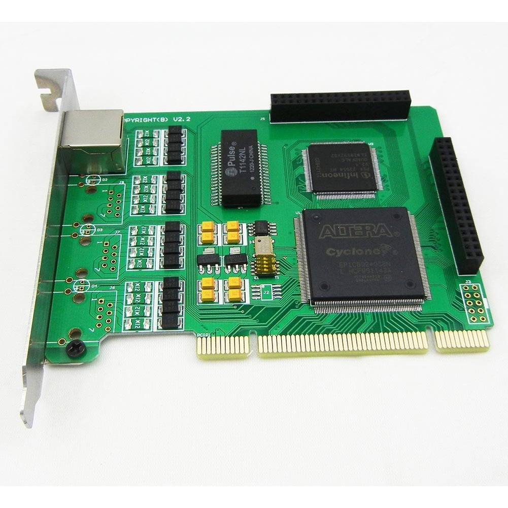 1 Span Selectable E1 or T1 Pci Card Suitable for Asterisk Based Applications