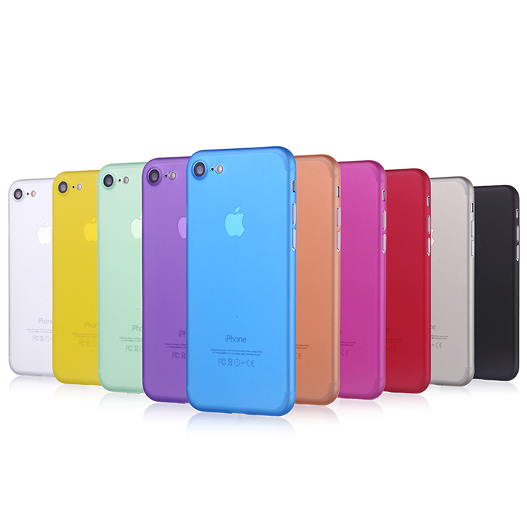 For <strong>iPhone</strong> 7 0.35mm pp cases thin matte phone cover, for <strong>iphone</strong> 7 case ultra thin