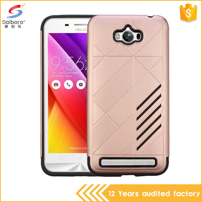 Dual Layer Tpu Pc Shockproof Heavy Duty Rugged back case for asus zenfone max zc550kl