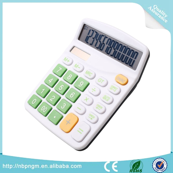 The Calculator is Accounting 14-bit Office Colorful 2 Power 14 Digital Cheap Calculator