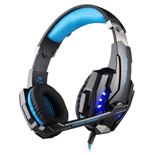 China Suppliers KOTION EACH G9000 3.5m Gaming Headphone Headset Earphone Headband with Microphone LED Light for Mobile Phone