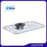 ABS plastic material bath shower insert shower soap holders dish