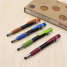 Low MOQ muti function ball pen with led laser pointer stylus for teacher