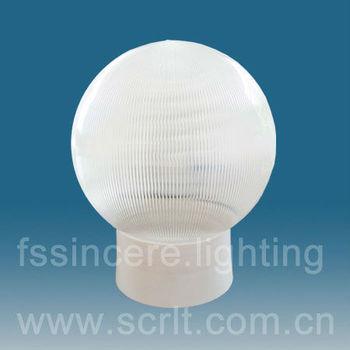 Outdoor Lighting Uvioresistant Acrylic Globe Fitting Acrylic Light Globe  Globe Light Fixture With E27 Socket