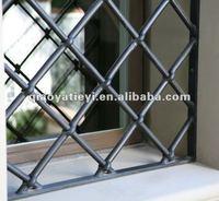 Buy modern iron window grill design,simple iron window grills ...