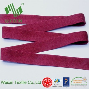 Underwear Acccessories Fold Over Composite Elastic Ribbon - Buy Bikini Fold  Over Elastic Ribbon,Boyshorts Fold Over Elastic Tape,Woven Webbing Fold