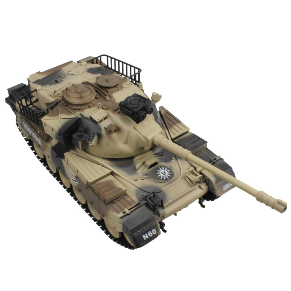 RC Tank USA M60 15 Channel 1/16 Patton Main Battle Tank