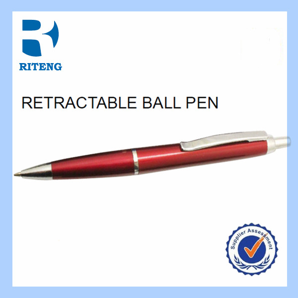 customized rubber grip plastic coil ball pen